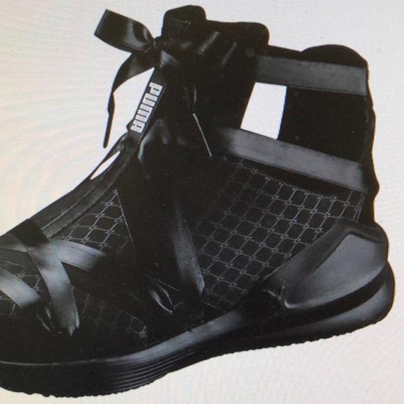 58139ebf00 Puma FIERCE ROPE SATIN En Pointe WOMENS Sneakers